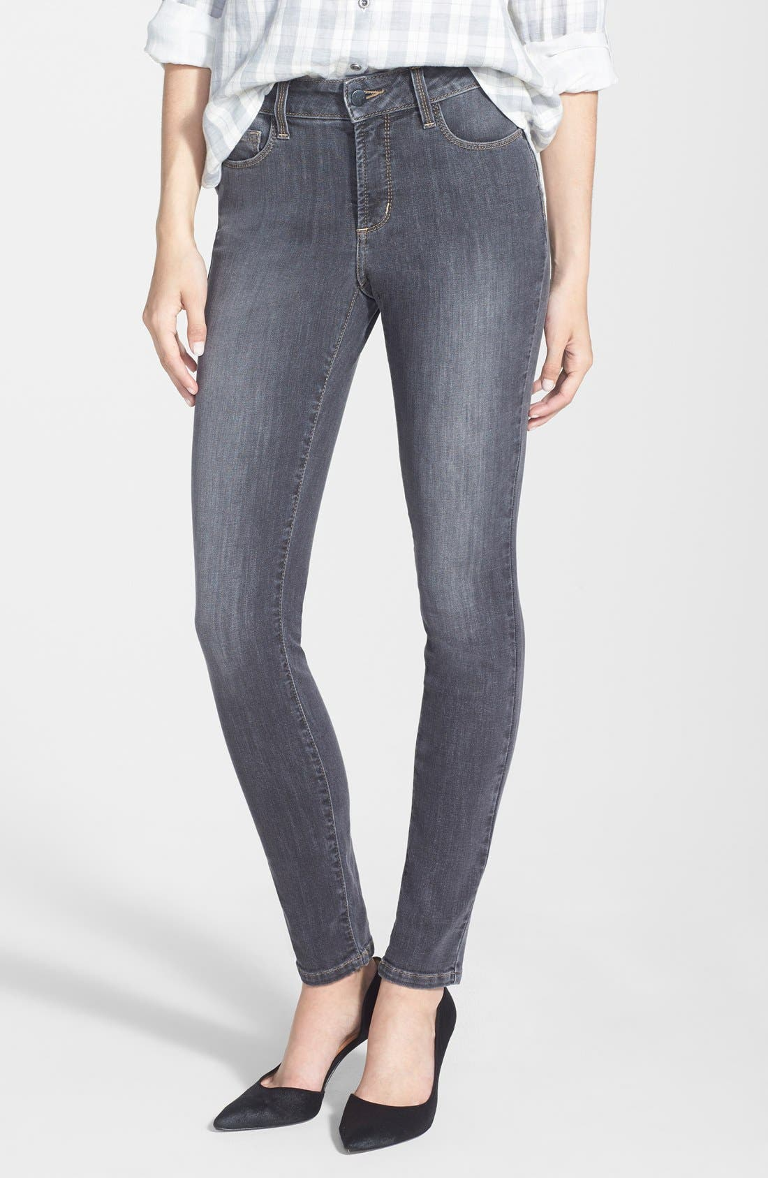Alternate Image 1 Selected - NYDJ 'Ami' Stretch Skinny Jeans (Dakota) (Regular & Petite)