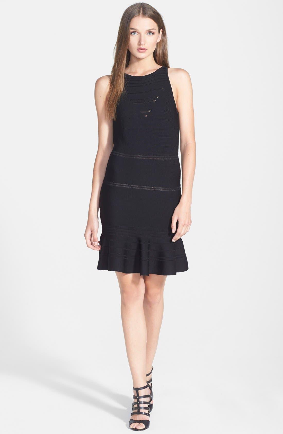 Main Image - 1.STATE Stripe Body-Con Dress