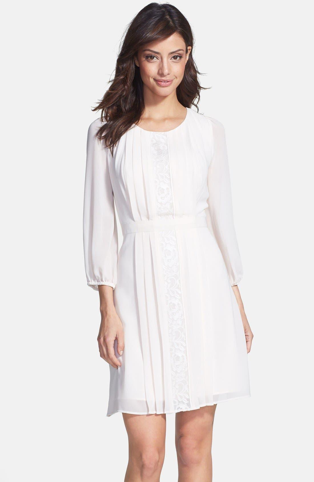 Alternate Image 1 Selected - Jessica Simpson Chiffon Blouson Dress