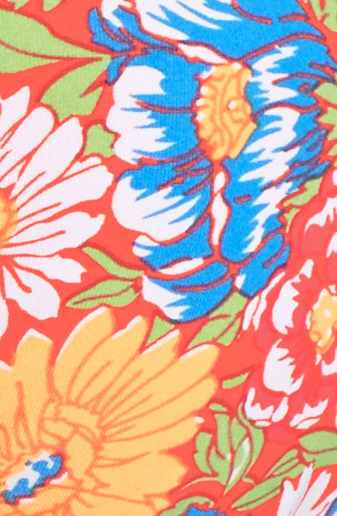 Alternate Image 6  - O'Neill 'Citrus Floral' Reversible Strappy Twist Bikini Bottoms