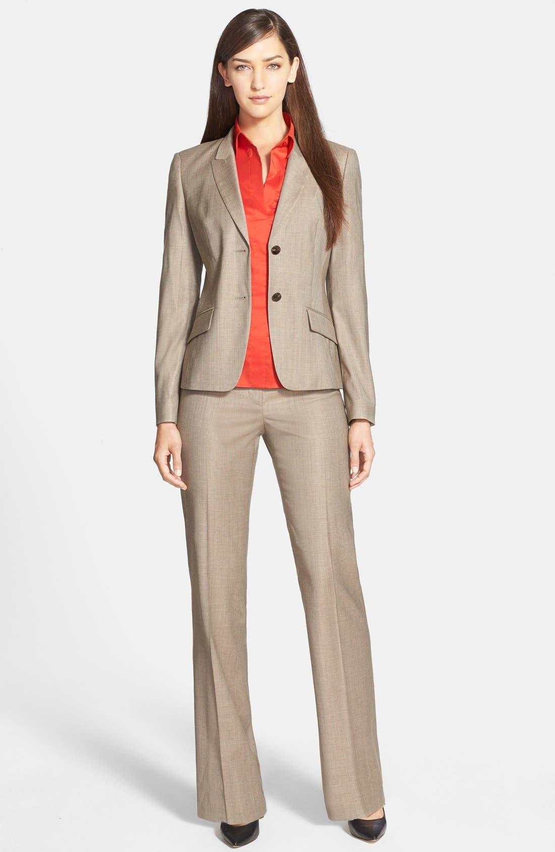 Alternate Image 3  - BOSS 'Jadena' Stretch Crepe Jacket