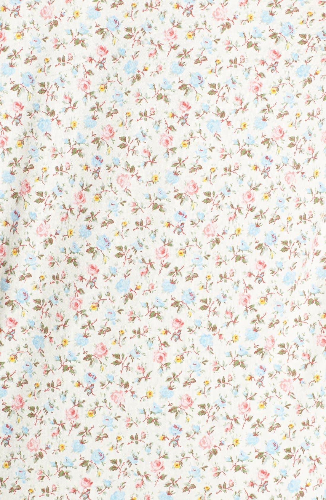 Alternate Image 3  - Lauren Ralph Lauren Jersey Knit Pajamas (Plus Size)