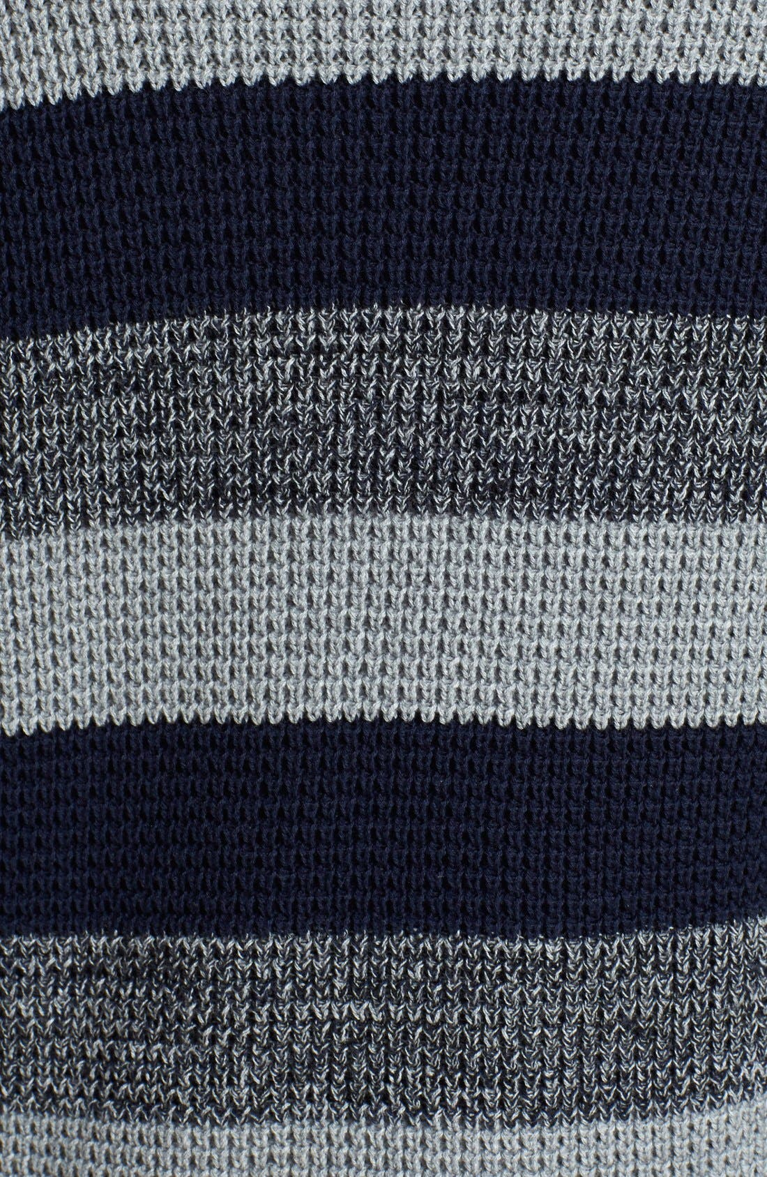 Alternate Image 3  - Two by Vince Camuto Stripe Raglan Sleeve Sweater