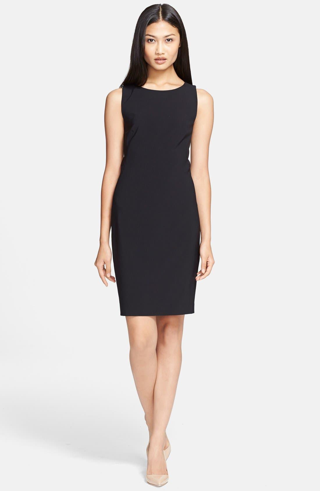 Alternate Image 1 Selected - Theory 'Betty 2' Stretch Sheath Dress