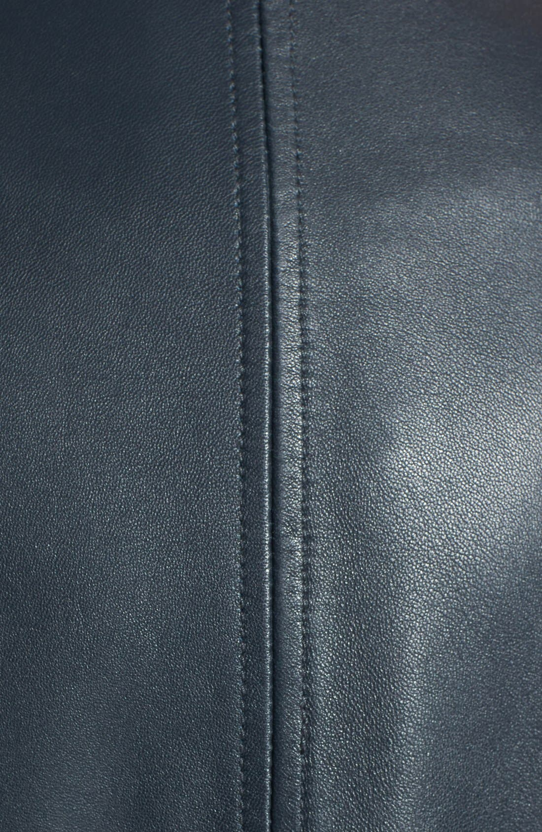 Alternate Image 4  - Sam Edelman Zip Detail Moto Jacket