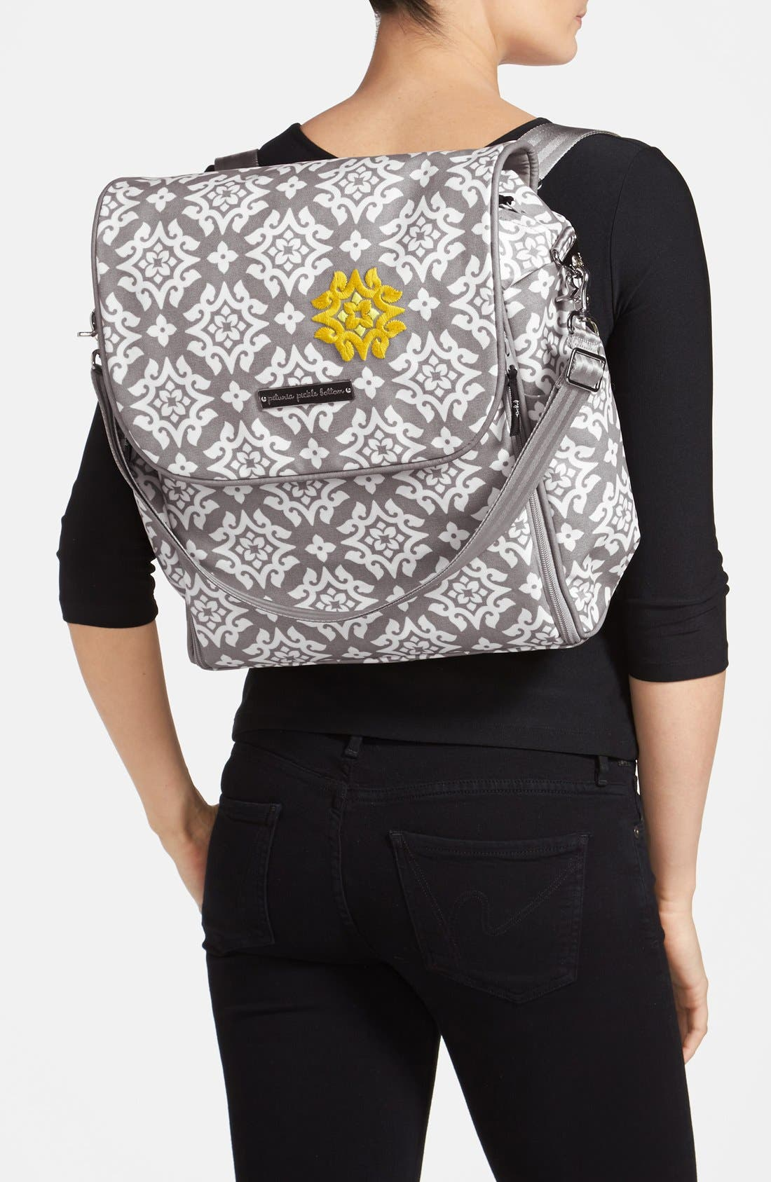 Alternate Image 2  - Petunia Pickle Bottom 'Boxy' Backpack Diaper Bag (Nordstrom Exclusive)