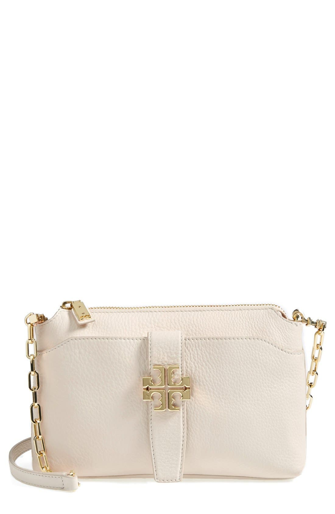 Main Image - Tory Burch 'Plaque' Crossbody Bag