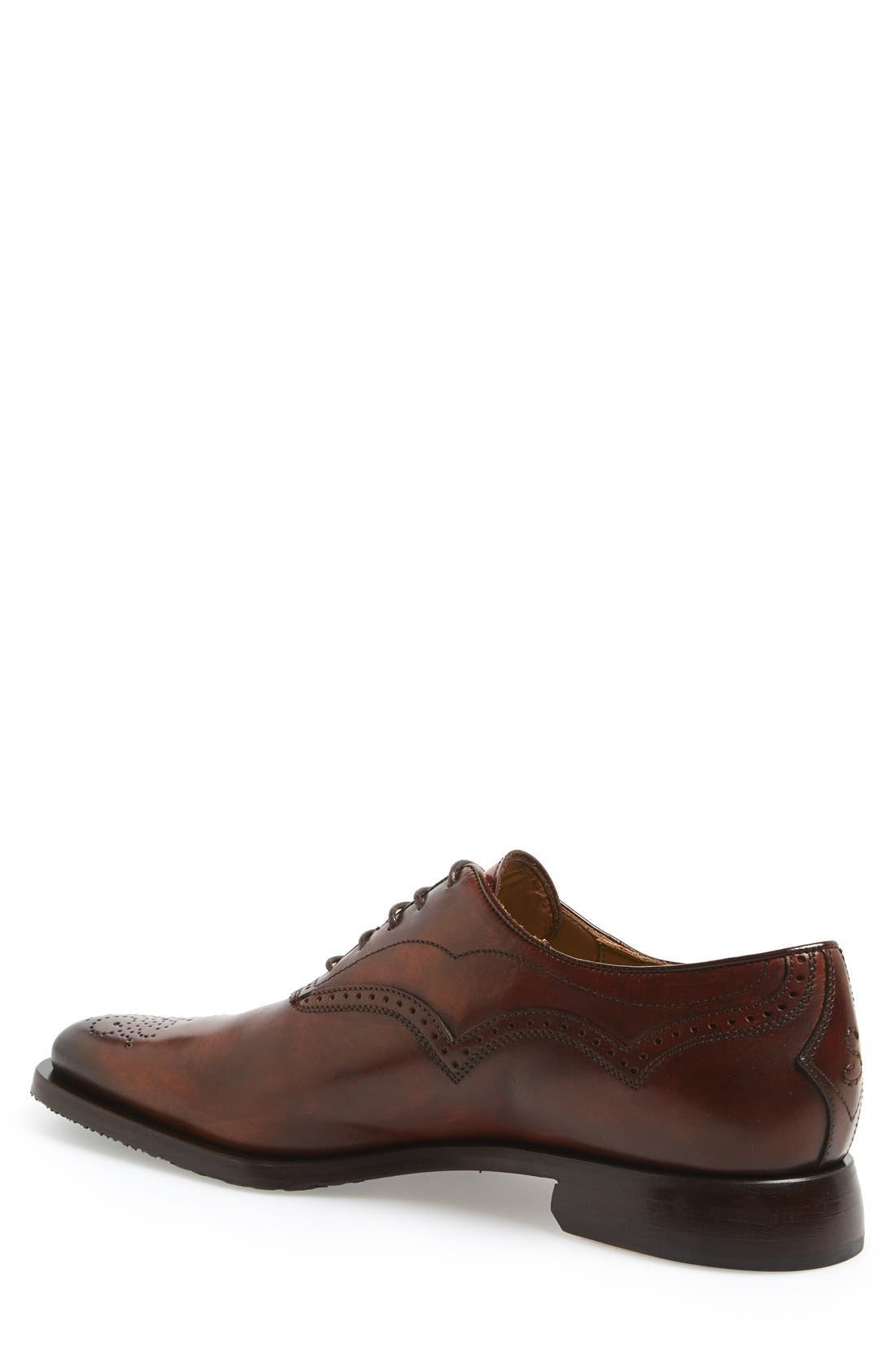 Alternate Image 2  - OLIVER SWEENEY PICOLIT CURVE BROGUE OXFORD