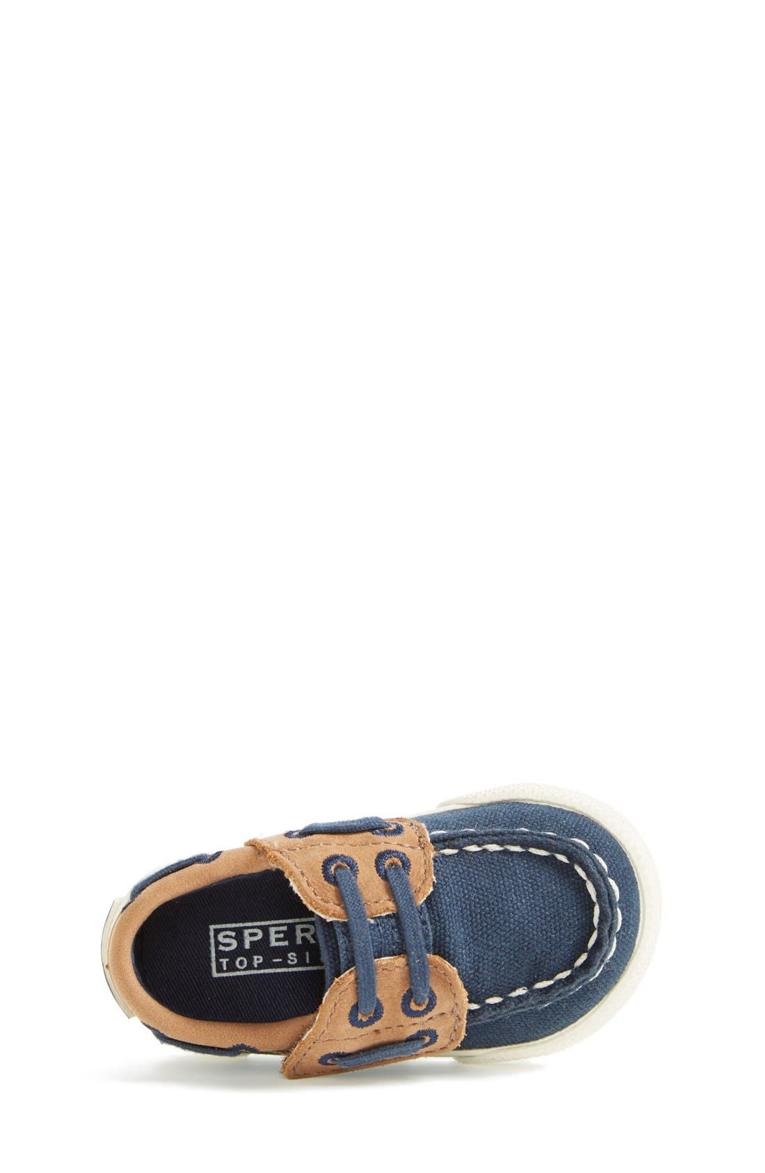 Alternate Image 4  - Sperry Top-Sider® Kids 'Halyard' Crib Shoe (Baby)
