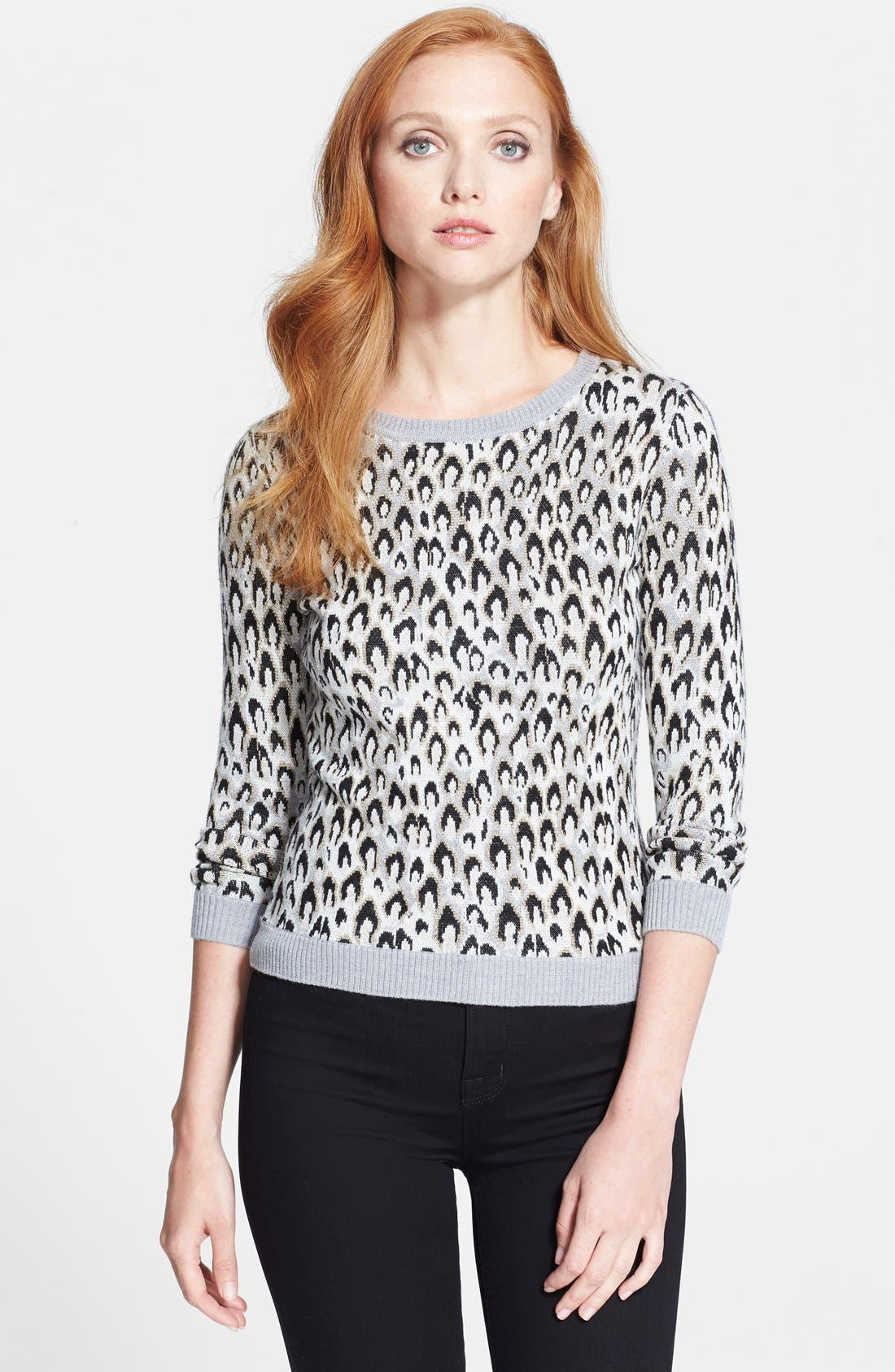Alternate Image 1 Selected - Diane von Furstenberg Jacquard Sweater
