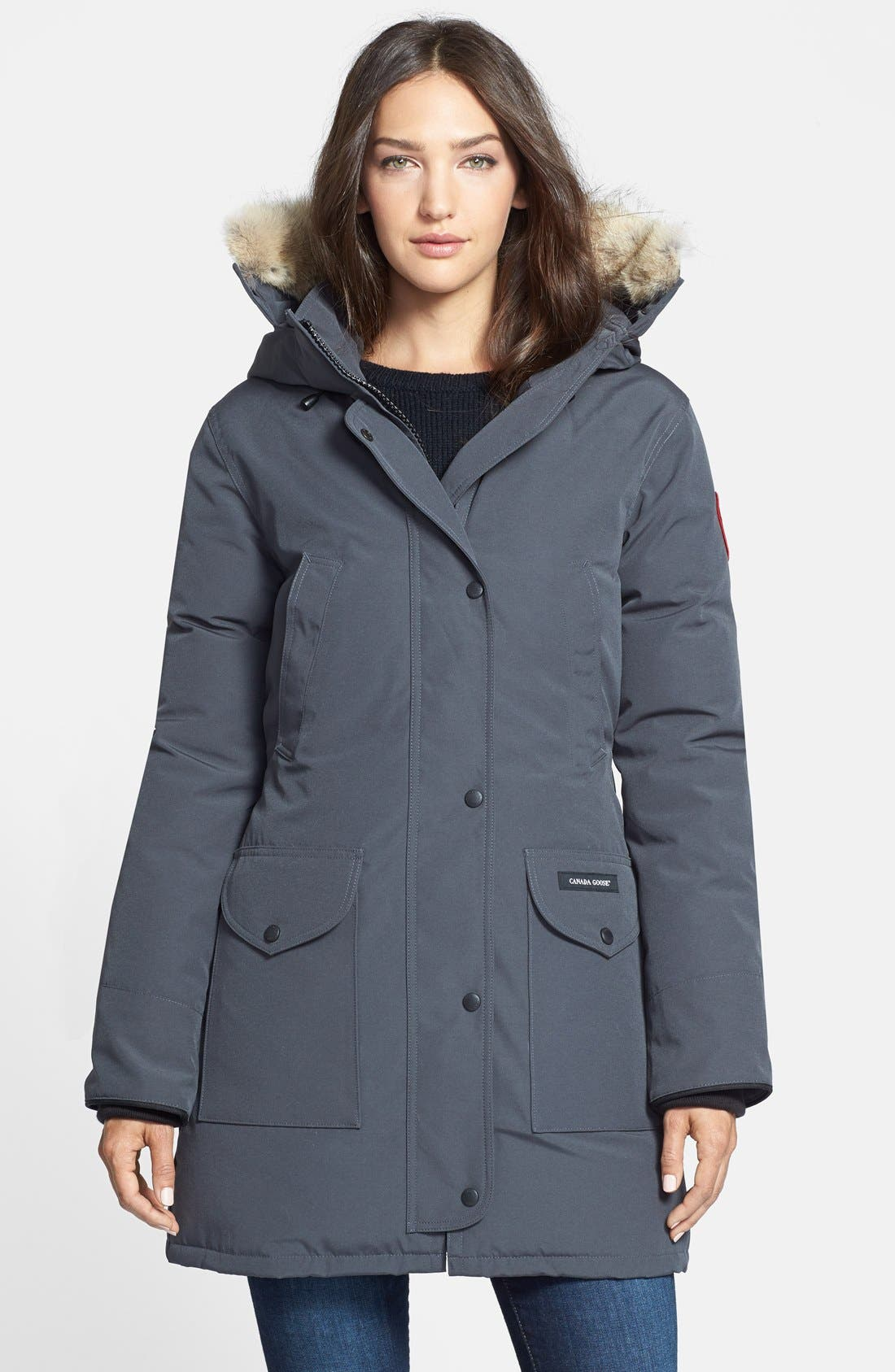 CANADA GOOSE 'Trillium' Regular Fit Down Parka with