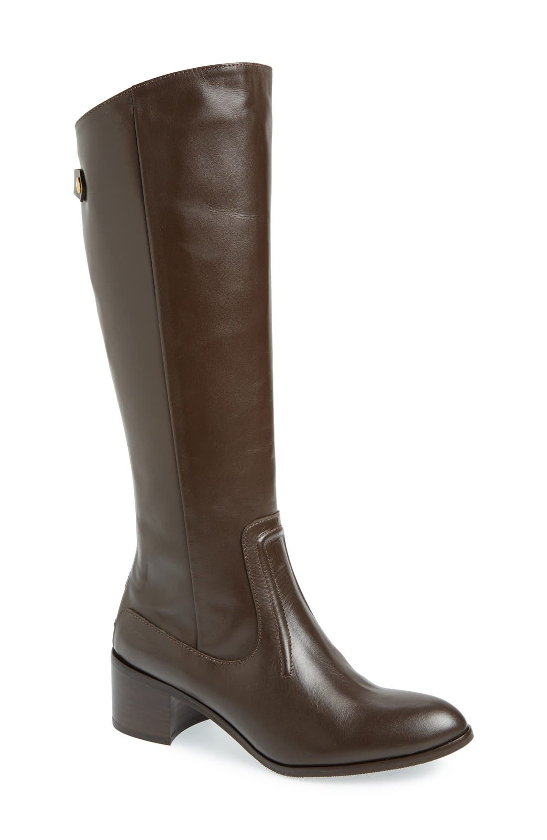 Alternate Image 1 Selected - Charles David 'Ramu' Leather Riding Boot (Women)