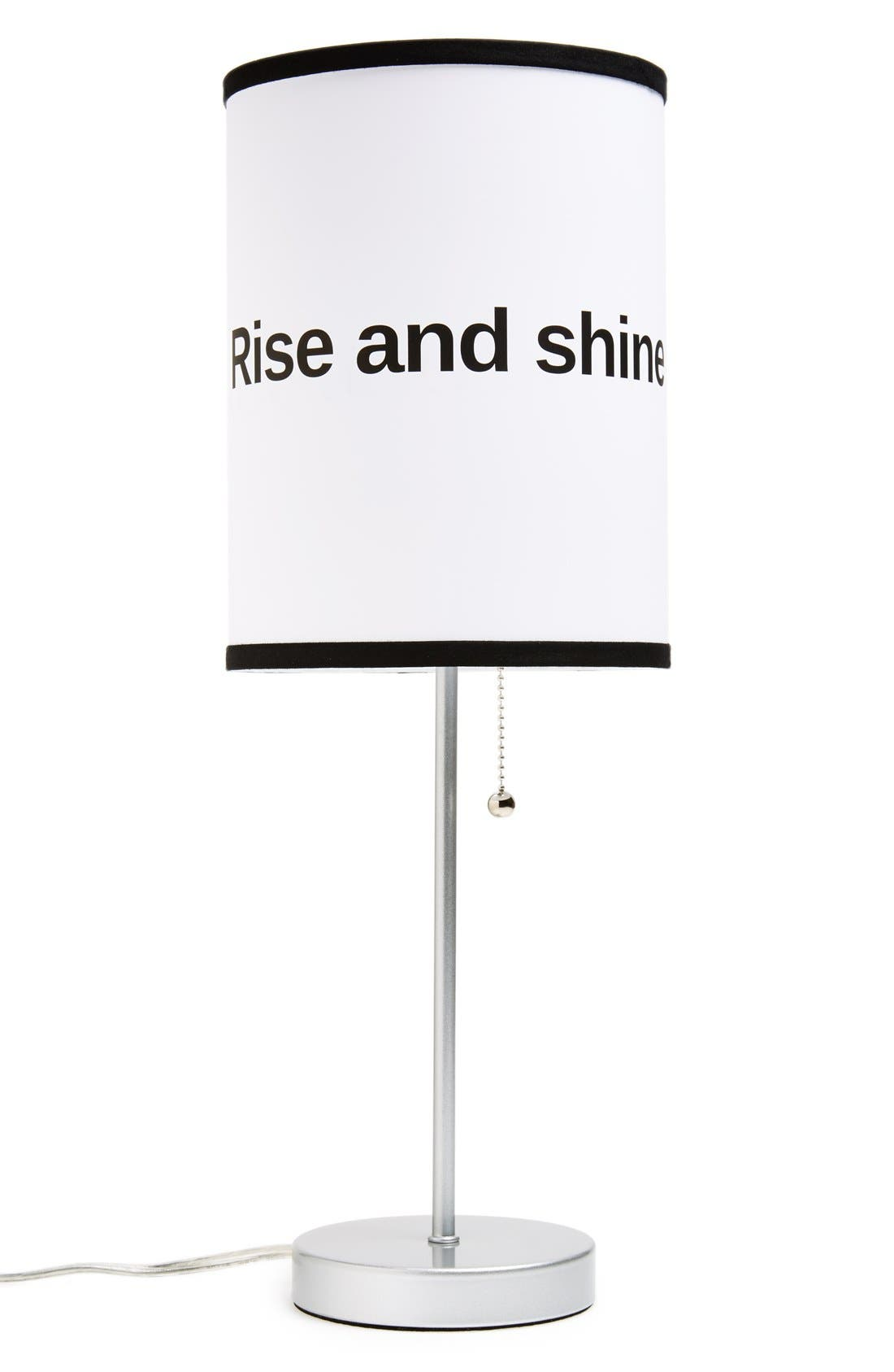 Alternate Image 1 Selected - LAMP-IN-A-BOX 'Rise and Shine' Table Lamp