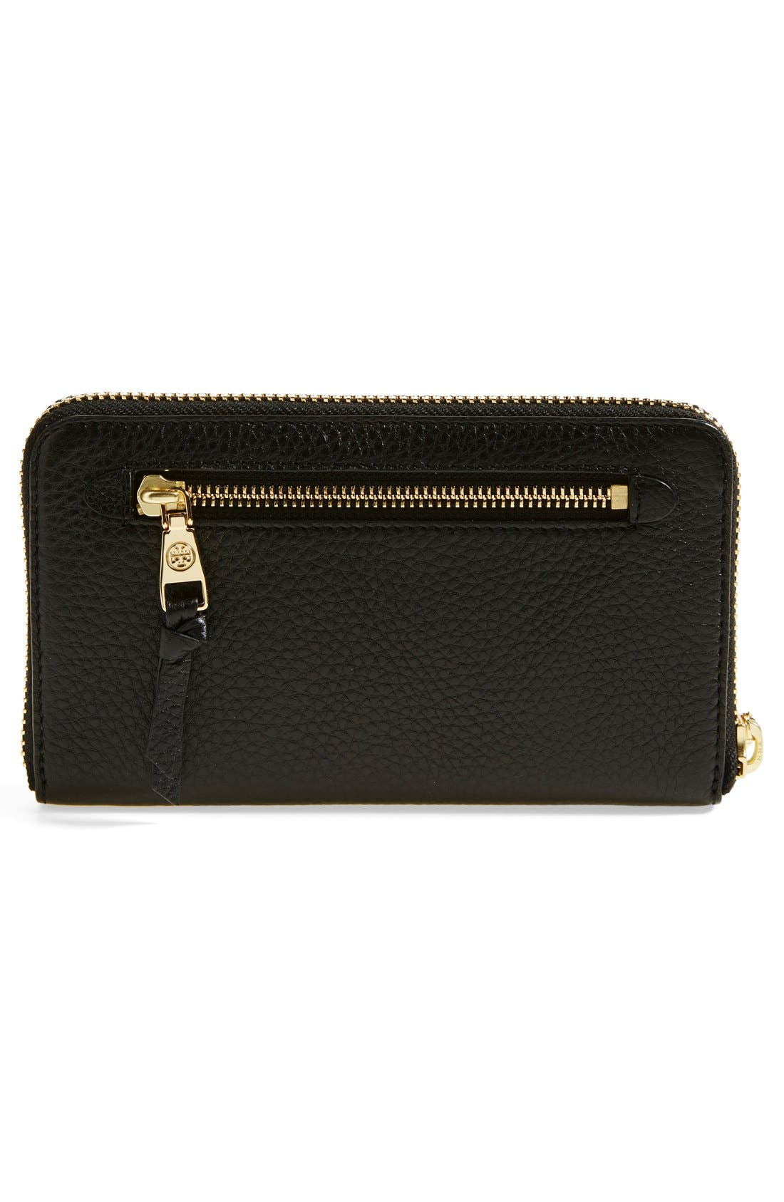 Alternate Image 3  - Tory Burch 'Robinson' Continental Leather Wallet