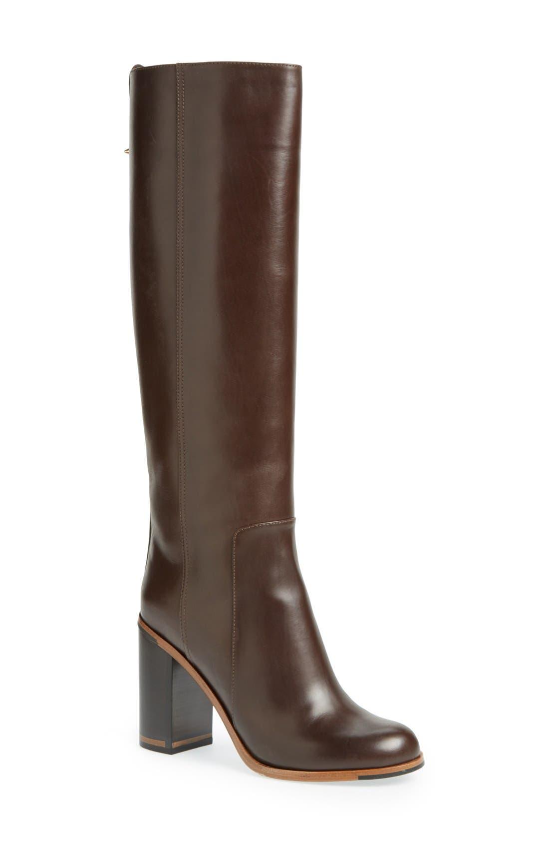 Alternate Image 1 Selected - Fendi 'Goldmine' Knee High Boot (Women)
