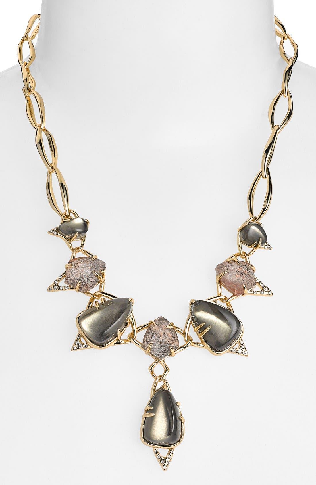 Main Image - Alexis Bittar 'Miss Havisham - Kinetic Gold' Frontal Necklace