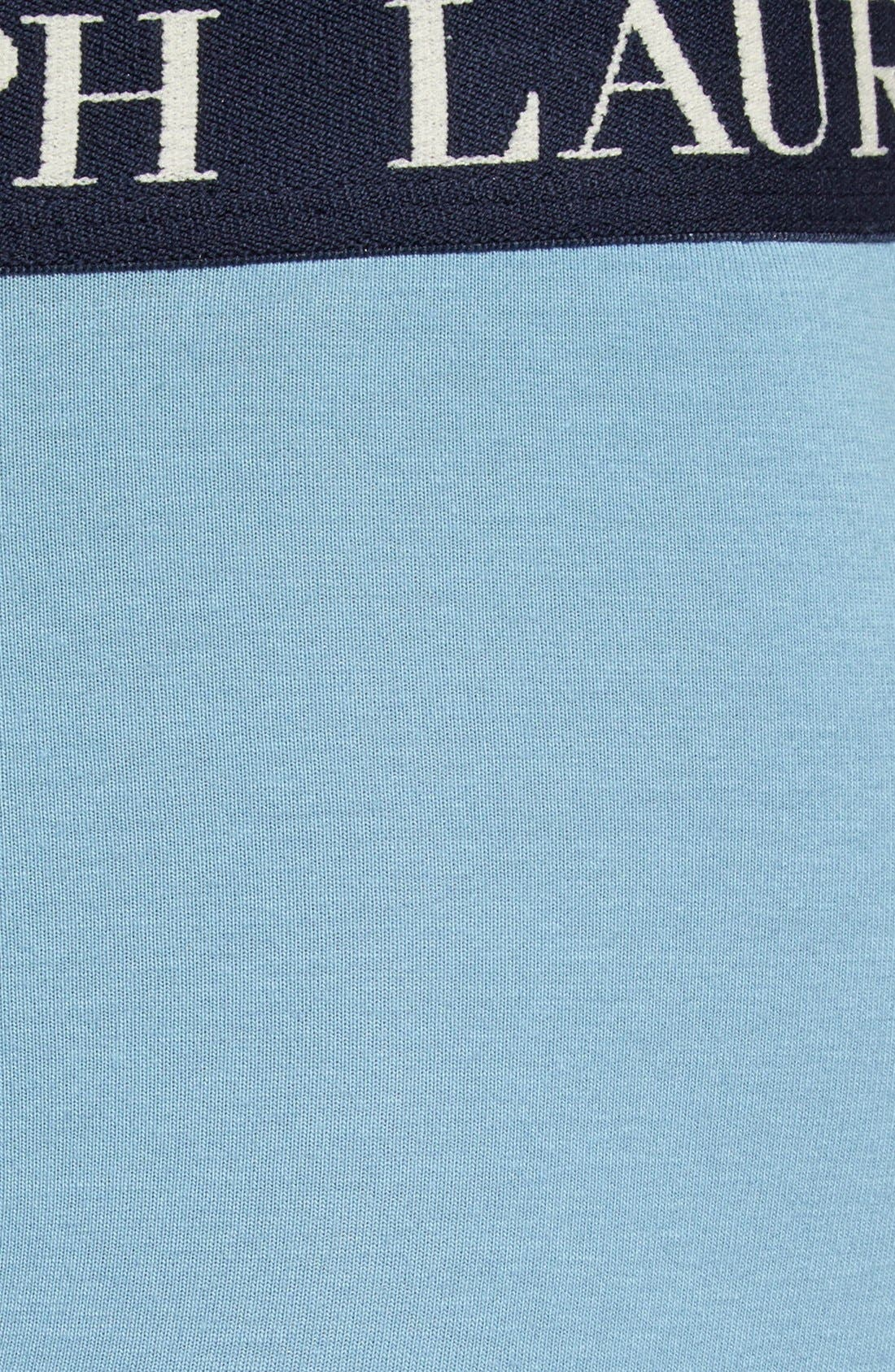 Alternate Image 3  - Polo Ralph Lauren Stretch Cotton Boxer Briefs