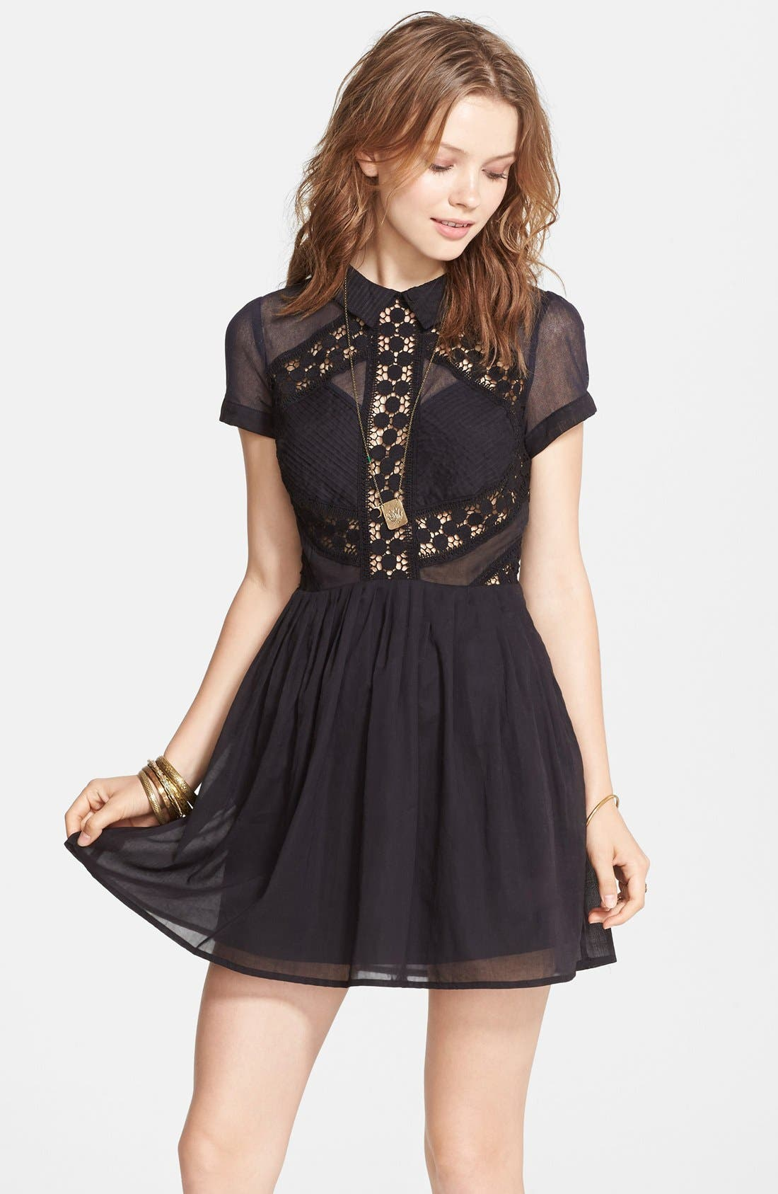 Alternate Image 1 Selected - Free People 'All That Talk' Dress