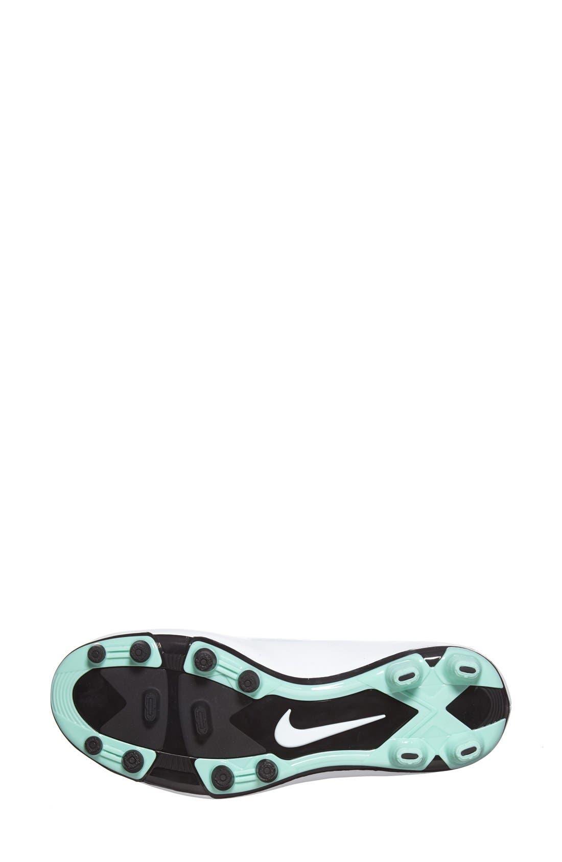 Alternate Image 4  - Nike 'Hypervenom Phade' Firm Ground Soccer Cleat (Women)