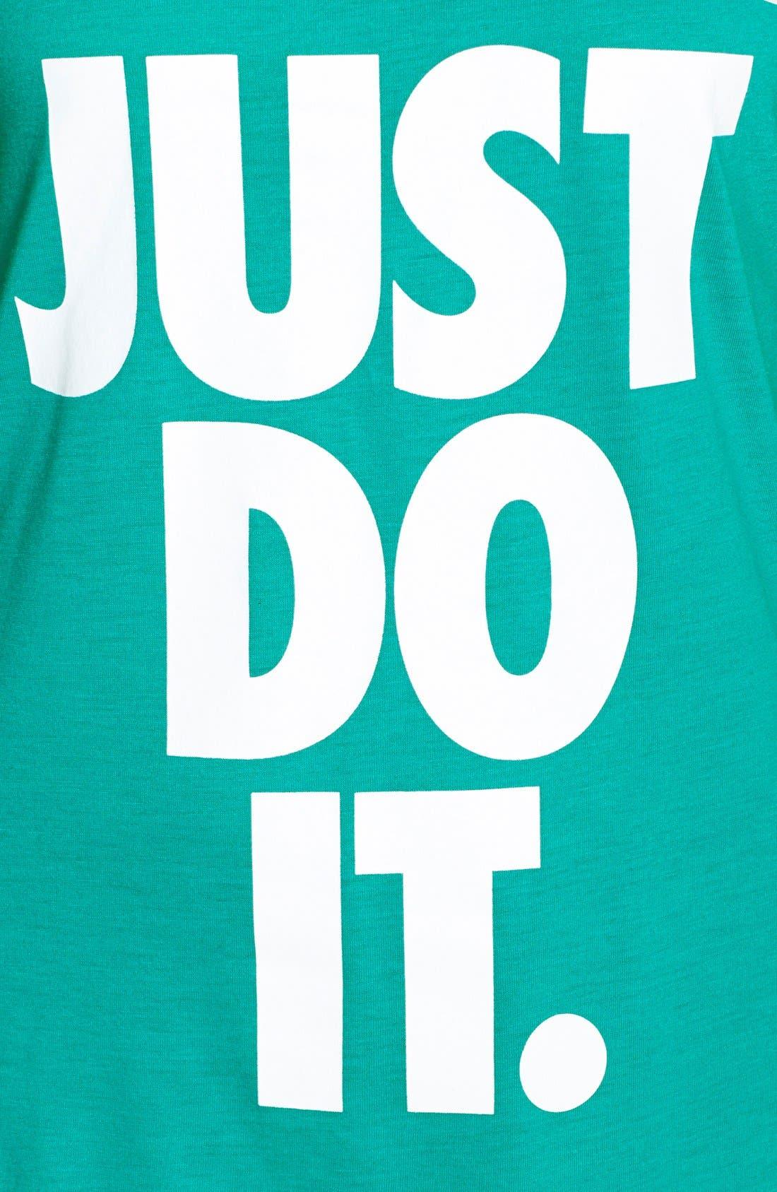 Alternate Image 4  - Nike 'Just Do It' Dri-FIT Racerback Tank