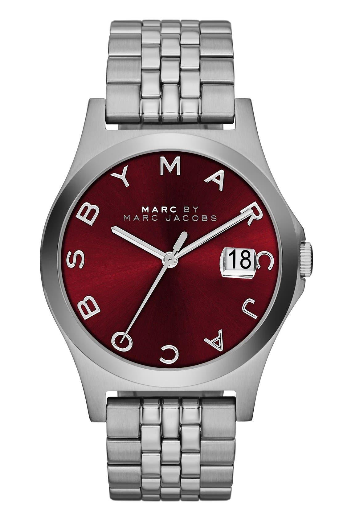 Alternate Image 1 Selected - MARC JACOBS 'The Slim' Bracelet Watch, 36mm