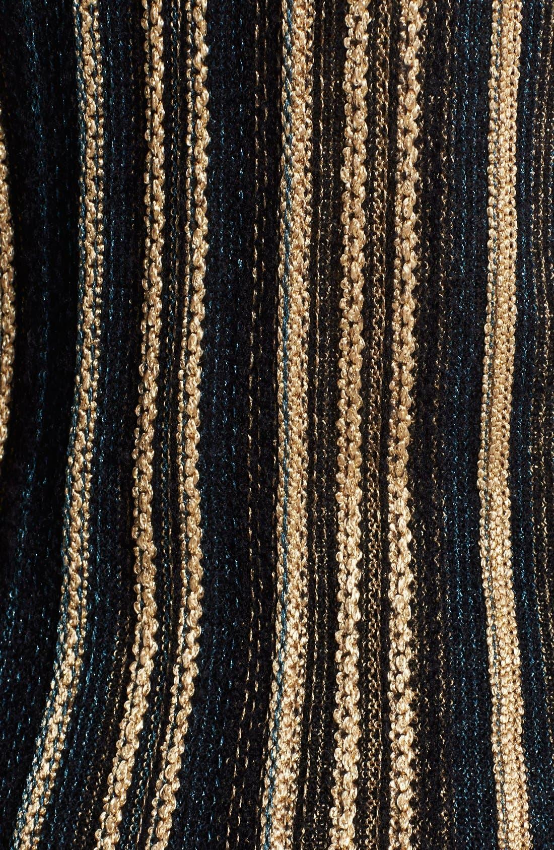 Alternate Image 4  - M Missoni Vertical Stripe Knit Top