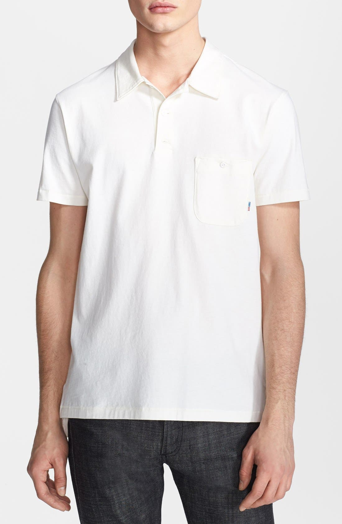 Alternate Image 1 Selected - Shipley & Halmos 'Regent' Cotton Jersey Polo