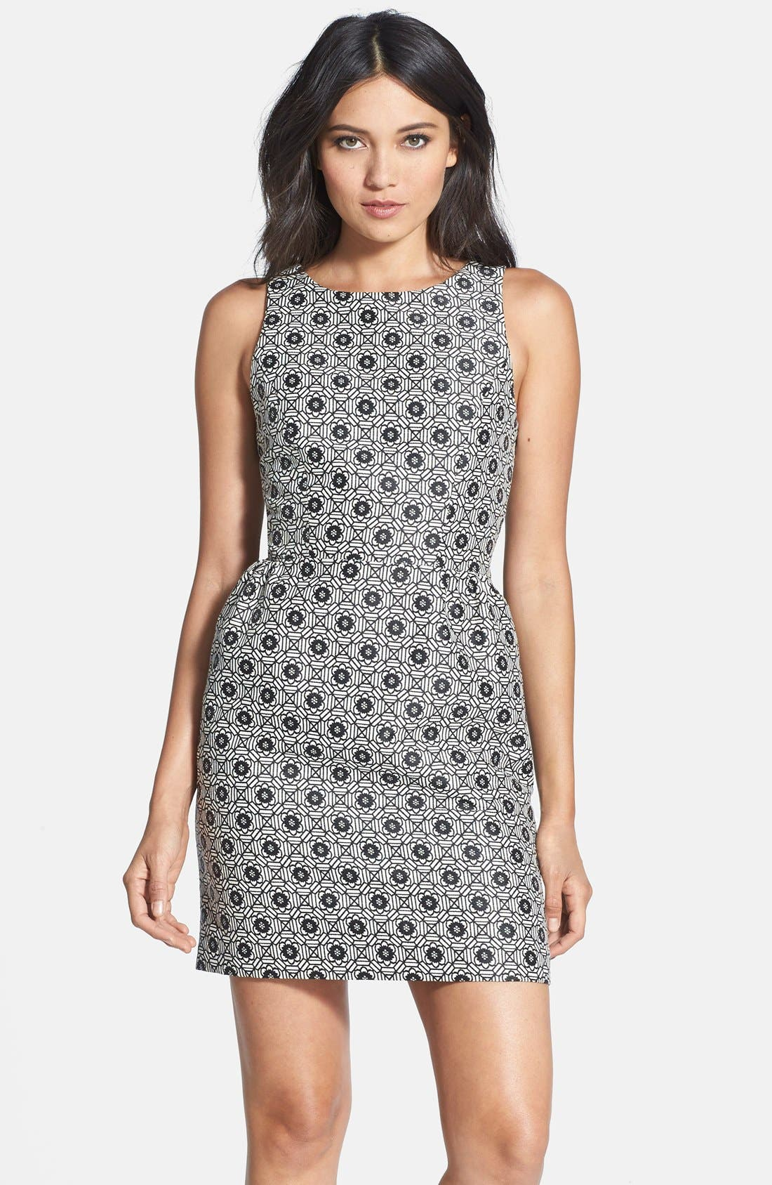 ERIN erin fetherston 'Winnie' Jacquard Bow Back Dress