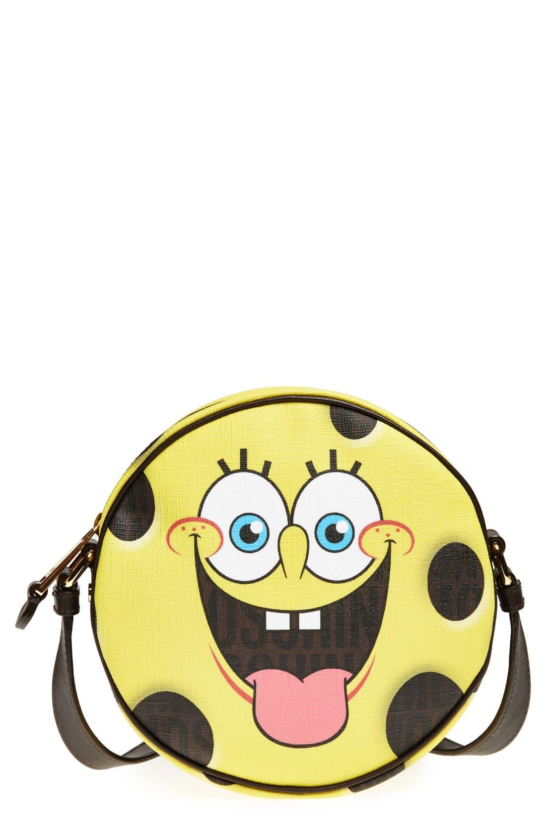 Alternate Image 1 Selected - Moschino 'SpongeBob' Crossbody Bag
