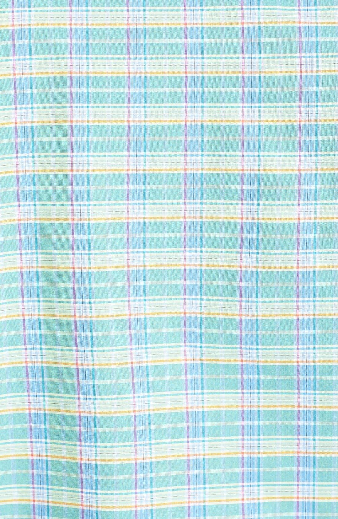 Alternate Image 3  - Zachary Prell 'Escobosa' Standard Fit Short Sleeve Plaid Sport Shirt