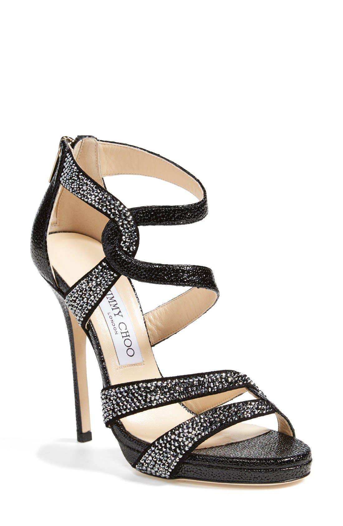 Alternate Image 1 Selected - Jimmy Choo 'Taint' Platform Sandal (Women)