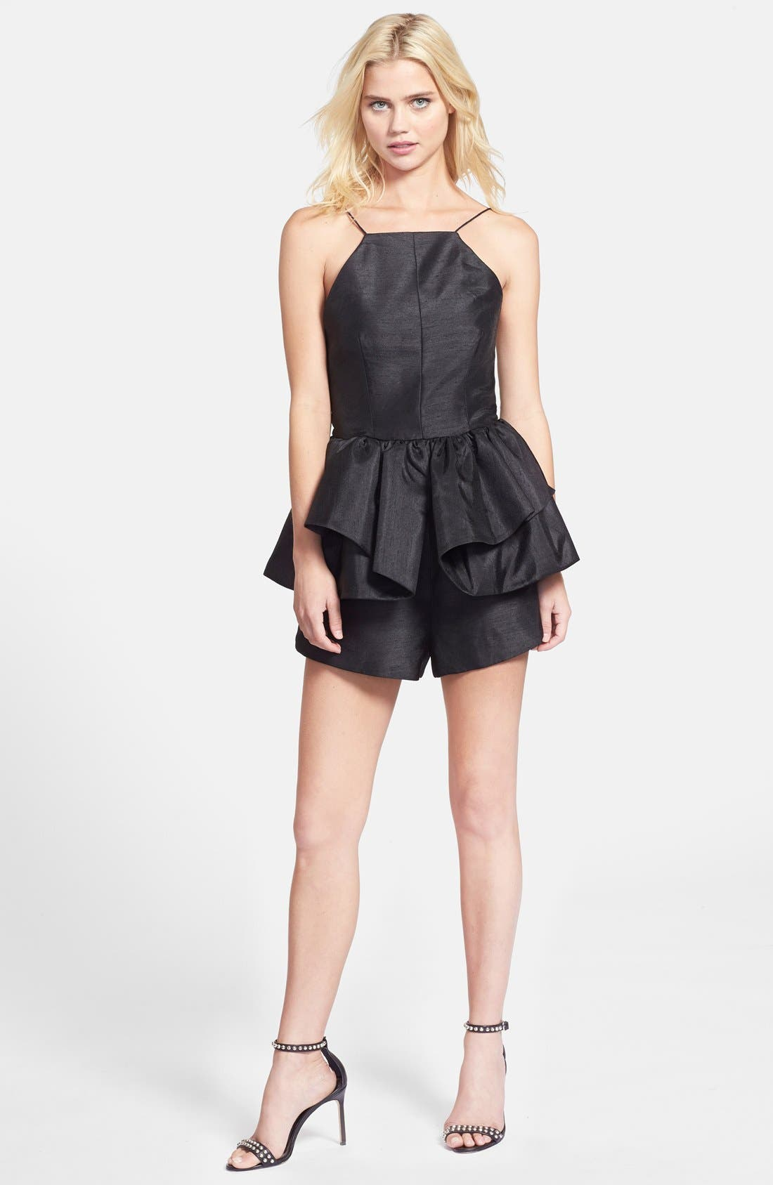 Alternate Image 3  - C/MEO Collective 'Perfect World' Ruffled Open Back Romper