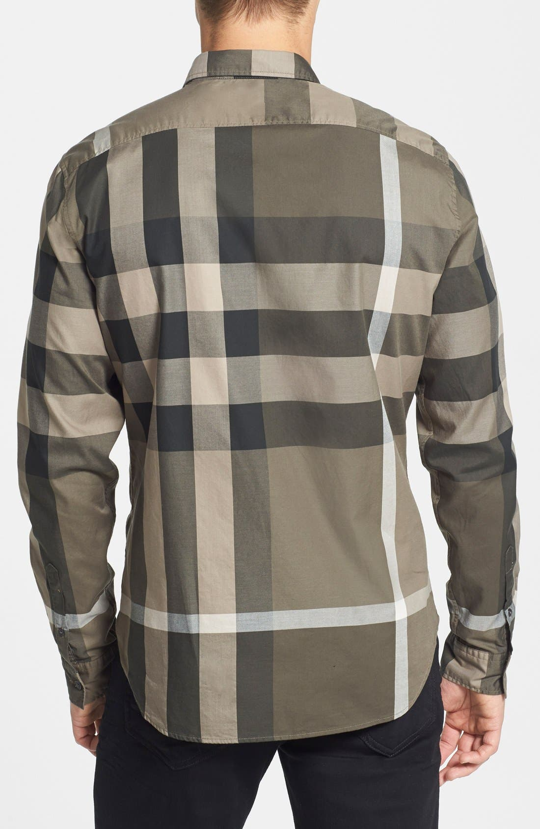 Alternate Image 2  - Burberry Brit 'Fred' Trim Fit Check Cotton Sport Shirt
