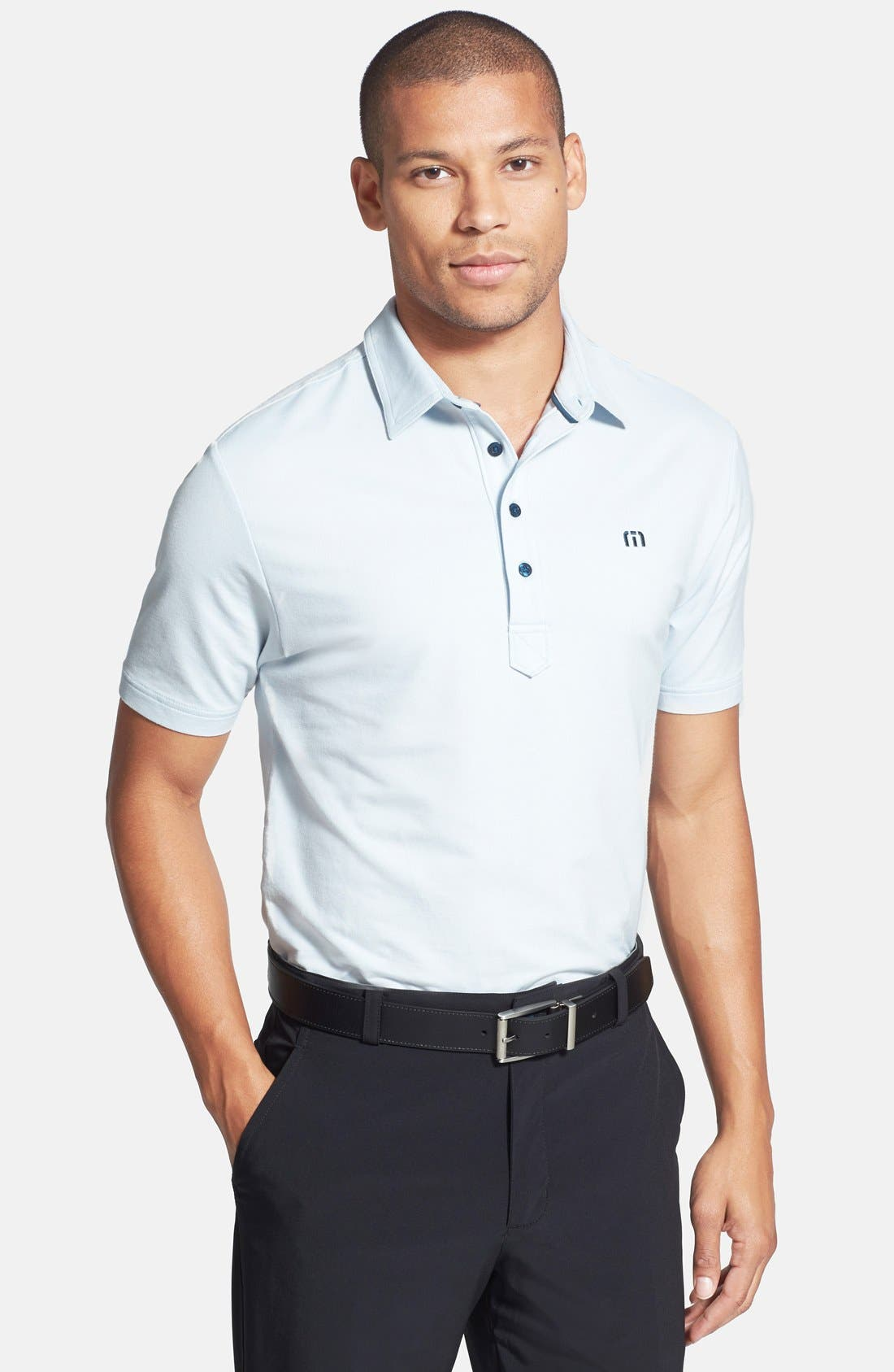 Alternate Image 1 Selected - Travis Mathew 'Morrison' Trim Fit Golf Polo