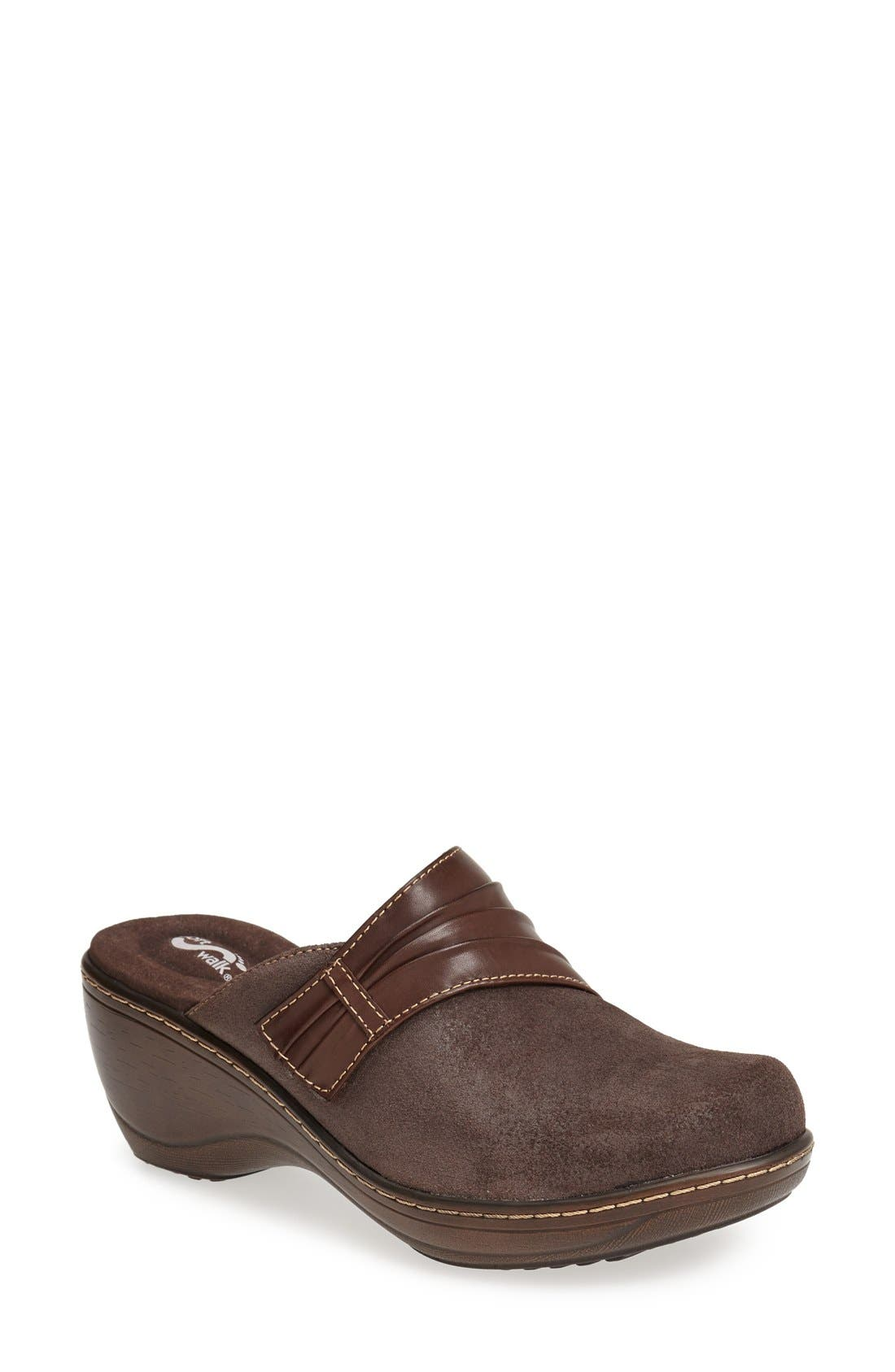 SoftWalk® 'Mason' Clog (Women)