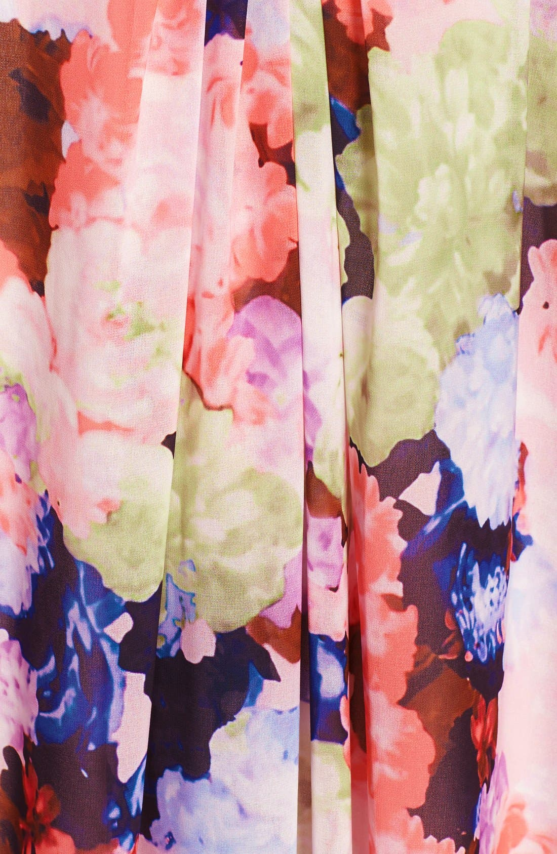 Alternate Image 3  - 1.STATE Floral Print Halter Dress