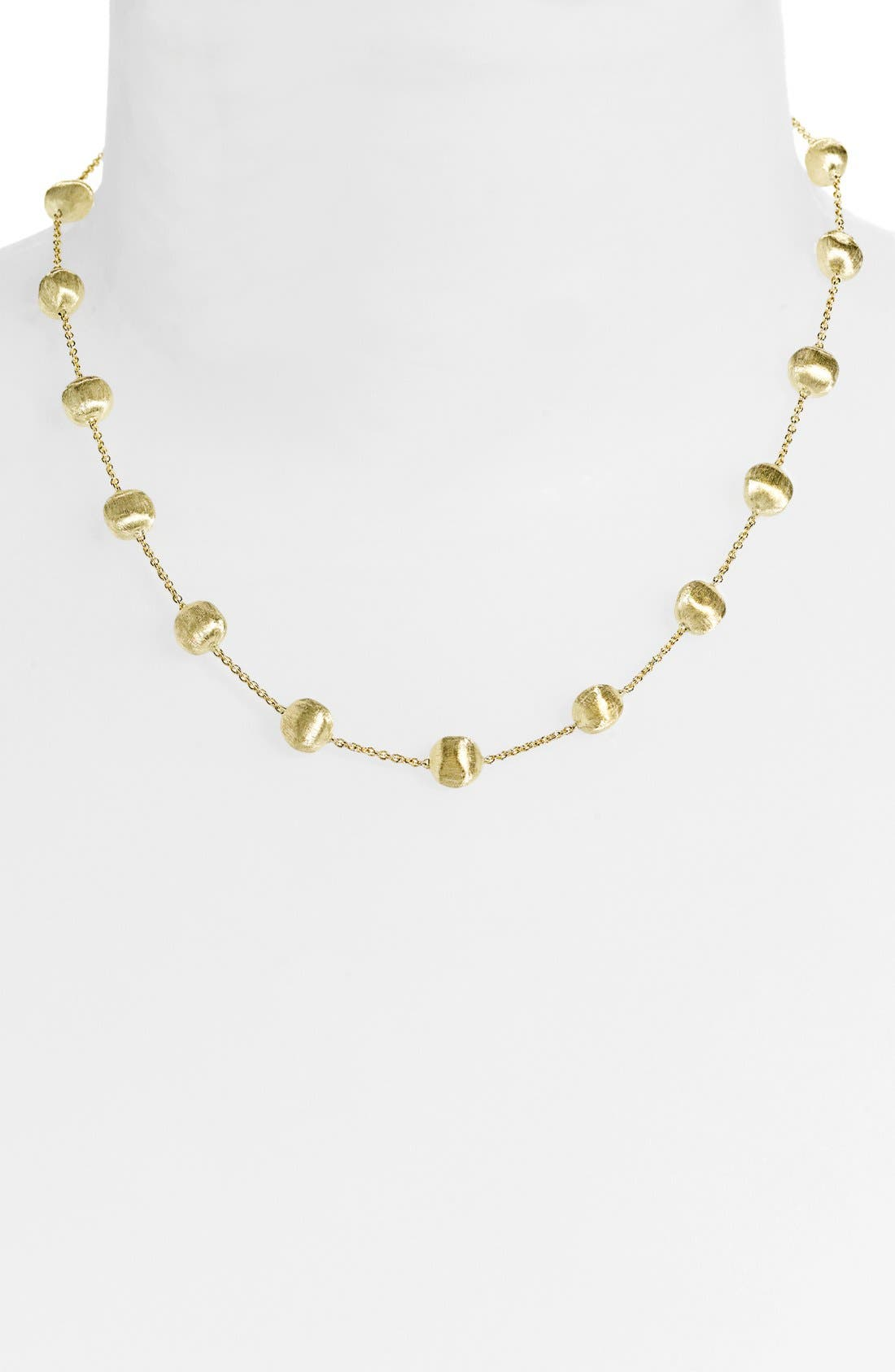 Alternate Image 1 Selected - Marco Bicego 'Africa Gold' Necklace