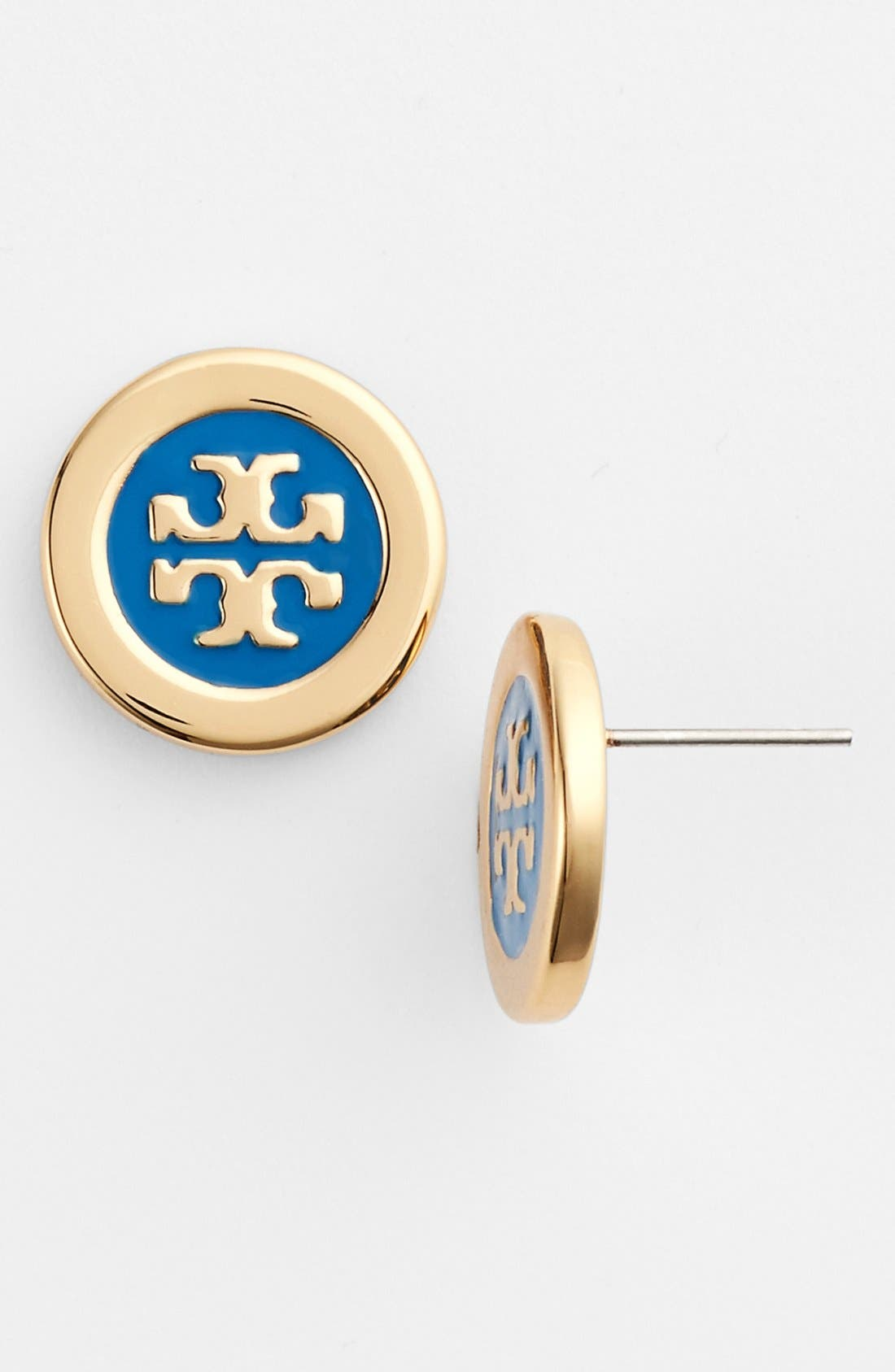Alternate Image 1 Selected - Tory Burch Logo Studs