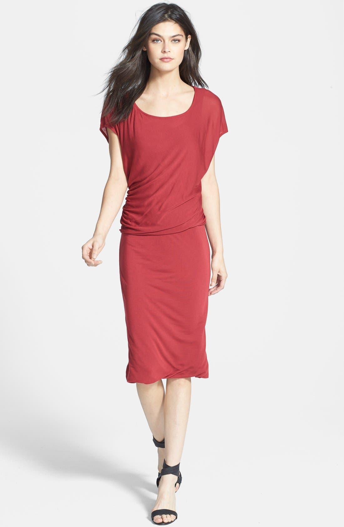 Main Image - Velvet by Graham & Spencer Blouson Dress