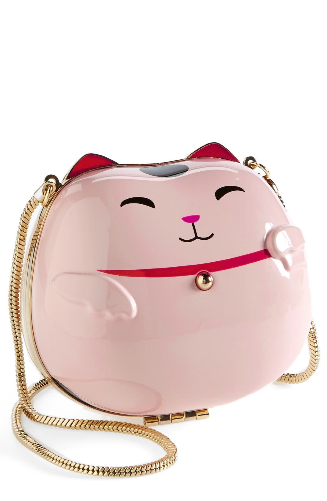 Main Image - kate spade new york 'hello tokyo cat' clutch