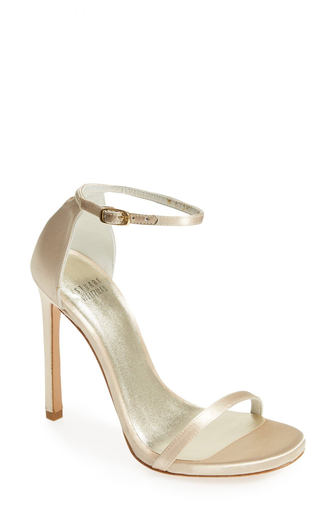Alternate Image 1 Selected - Stuart Weitzman 'Nudist' Sandal (Women)