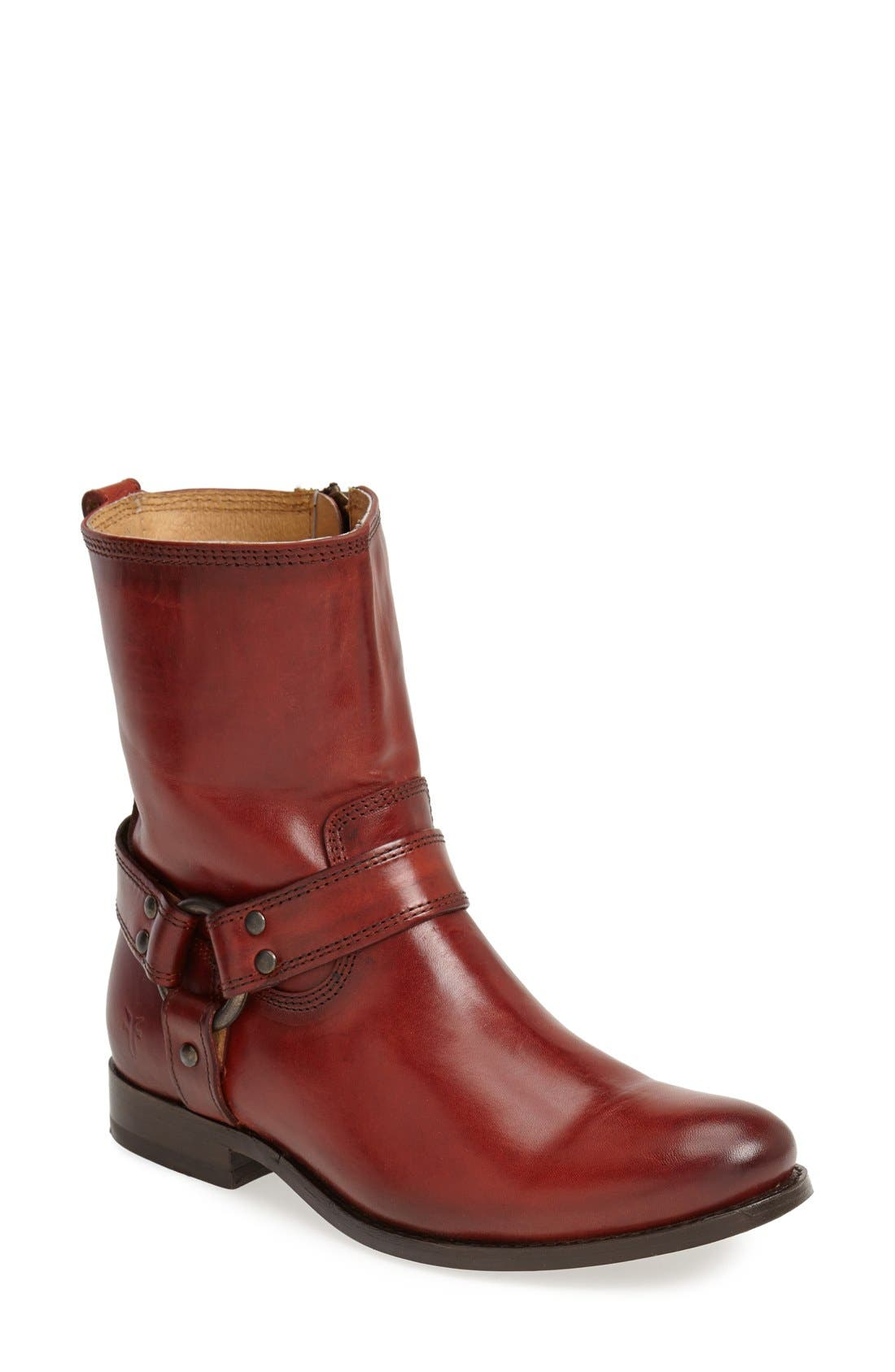 Alternate Image 1 Selected - Frye 'Melissa' Harness Boot (Women)