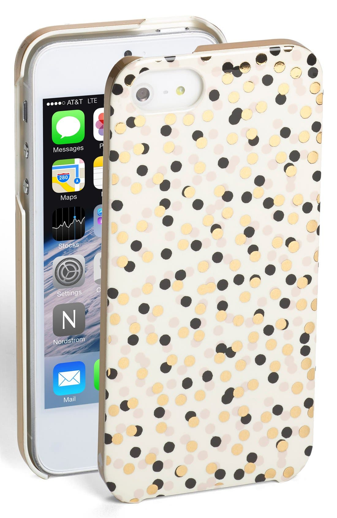 Alternate Image 1 Selected - kate spade new york 'confetti' iPhone 5 & 5s case