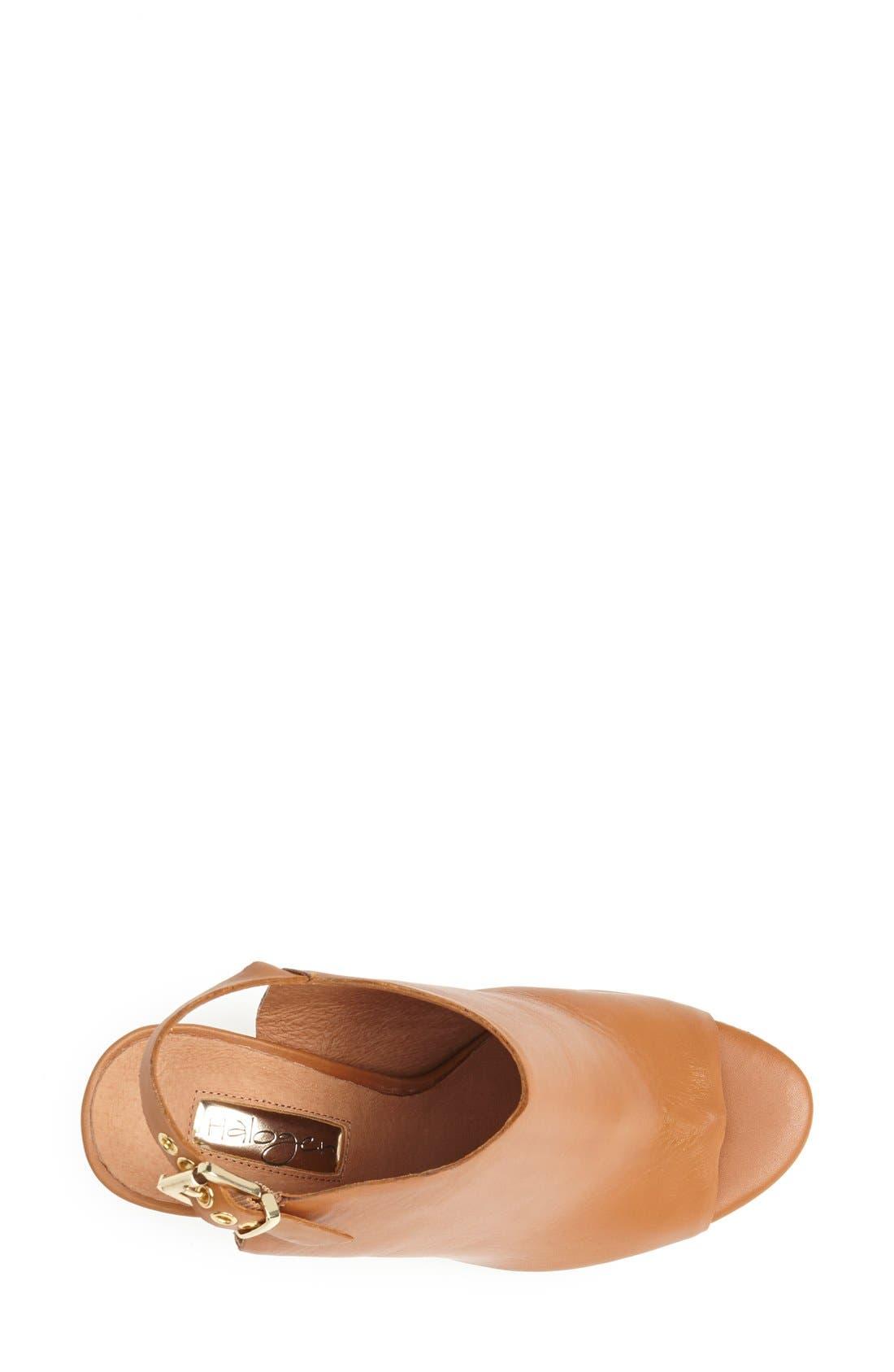 Alternate Image 3  - Halogen 'Sasha' Leather Sandal (Women)
