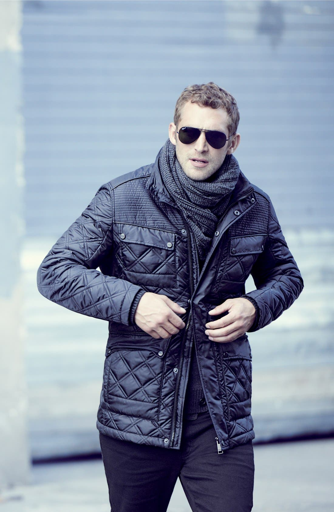 Alternate Image 4  - Marc New York by Andrew Marc 'Patton' Quilted Field Jacket