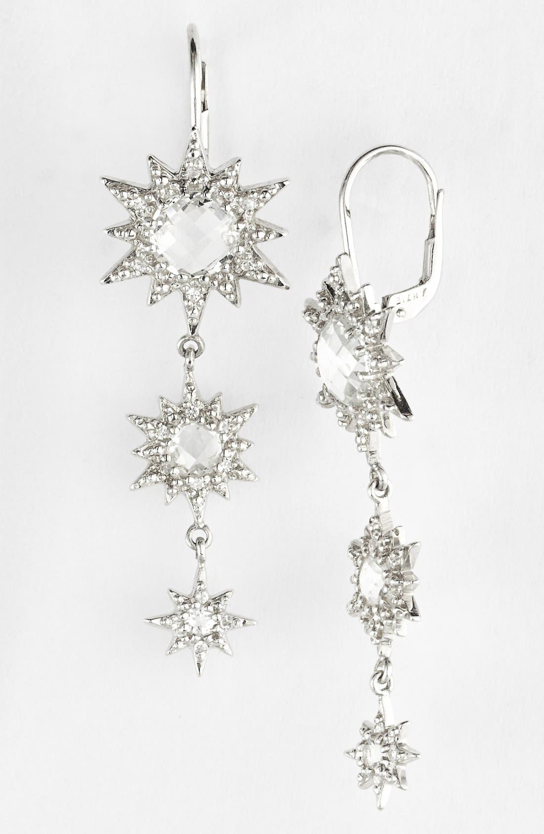 Main Image - Anzie 'Aztec' Starburst Linear Earrings (Nordstrom Exclusive)