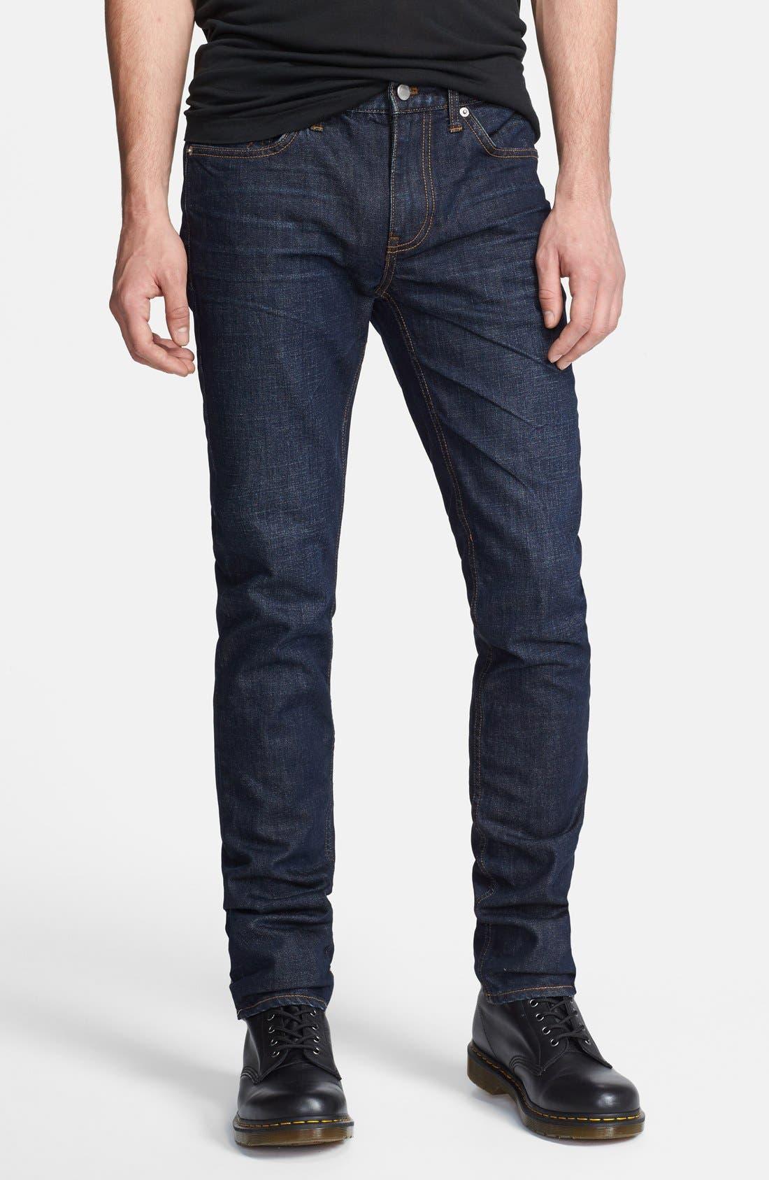 Main Image - BLK DNM Skinny Fit Jeans (Gates Blue)