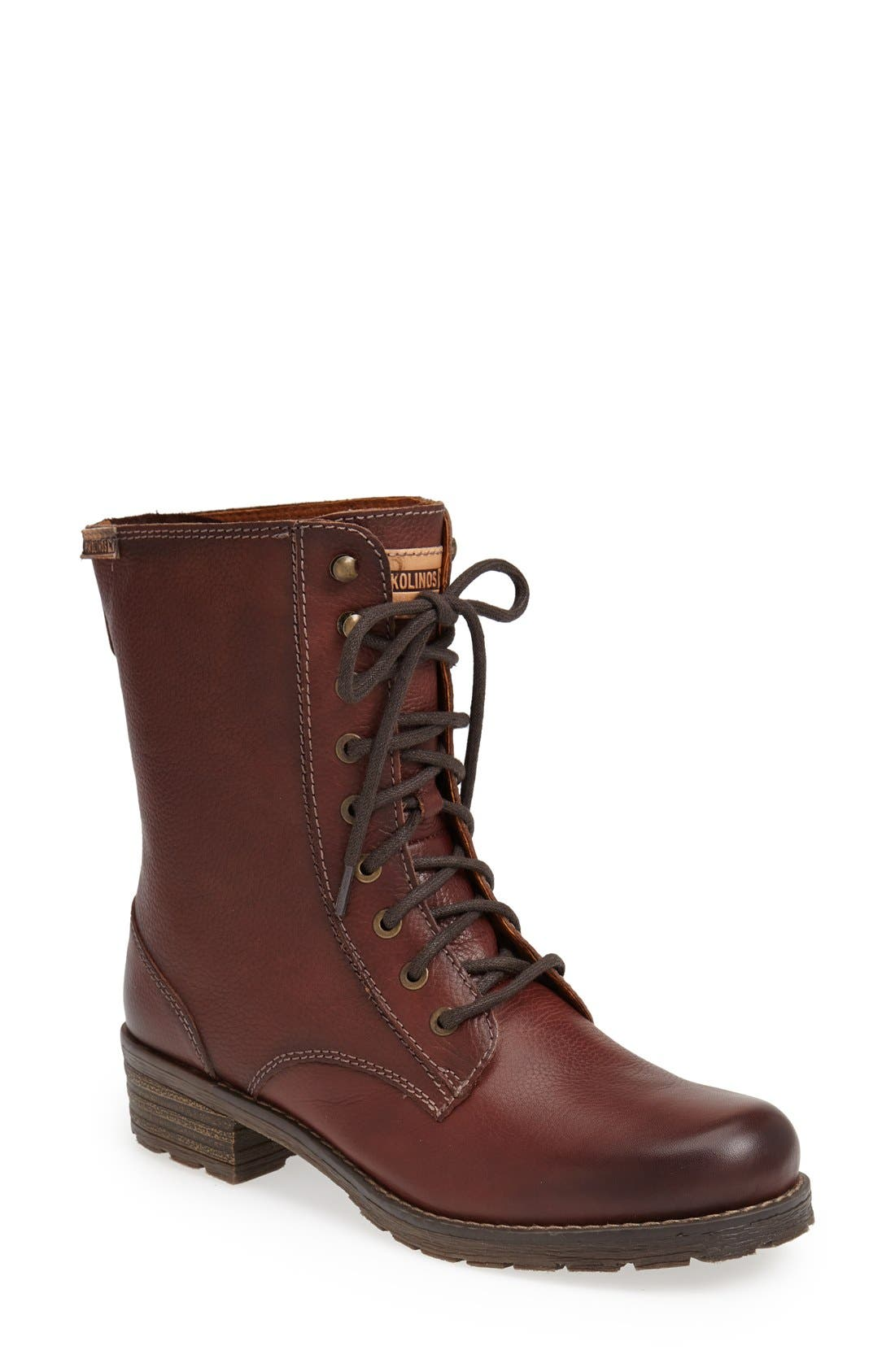 Alternate Image 1 Selected - PIKOLINOS 'Monza' Lace-Up Boot (Women)