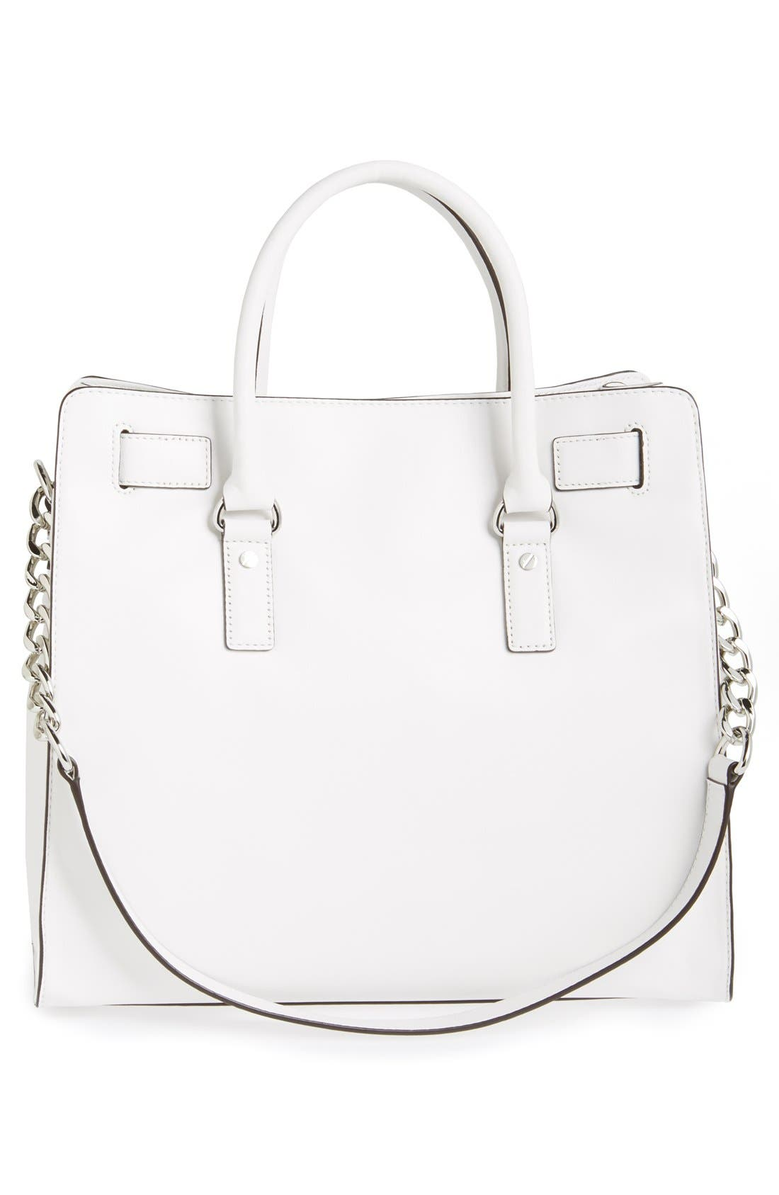 Alternate Image 4  - MICHAEL Michael Kors 'Large Hamilton - Microstud' Leather Tote