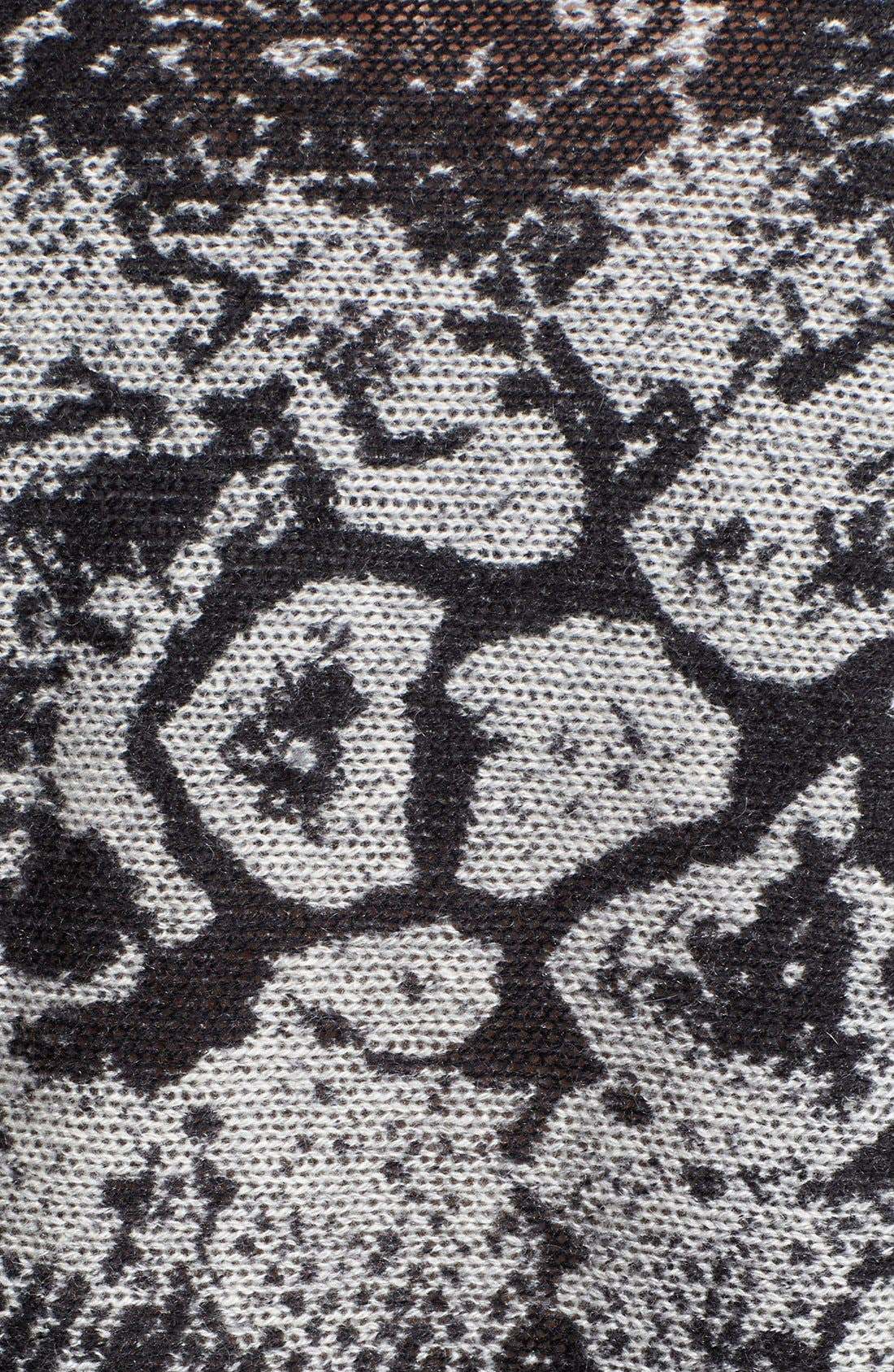Alternate Image 2  - autumn cashmere Snake Print Cashmere Snood